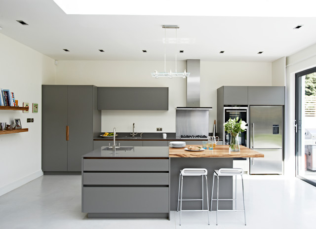 Roundhouse Contemporary Kitchens Contemporary Kitchen London