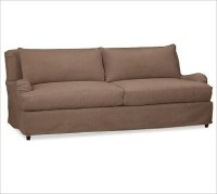 Carlisle Sofa, Down-Blend Wrap Cushions, EverydayVelvet ...