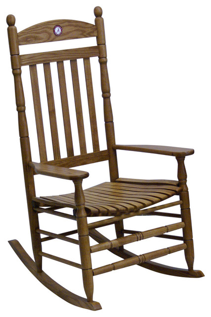 alabama rocking chair high chairs baby hinkle maple collegiate craftsman by co inc