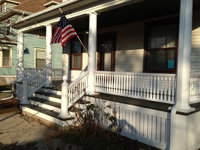 Historic Porch Renovations Traditional Porch Chicago