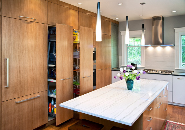Duplex near Harvard Square Cambridge Massachusetts  Contemporary  Kitchen  Boston  by Don