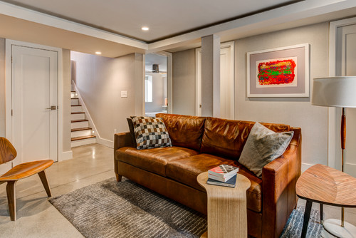 houzz article new living arrangement inspires an ohio basement