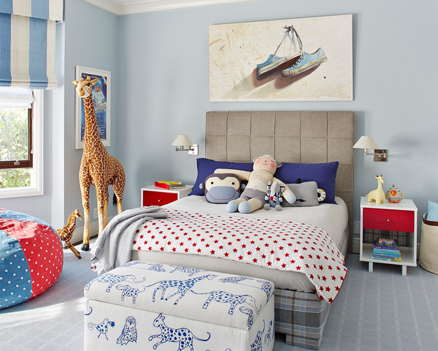 Childrens Bedroom- Interior Design by Taylor Ford Design, San Francisco transitional-kids