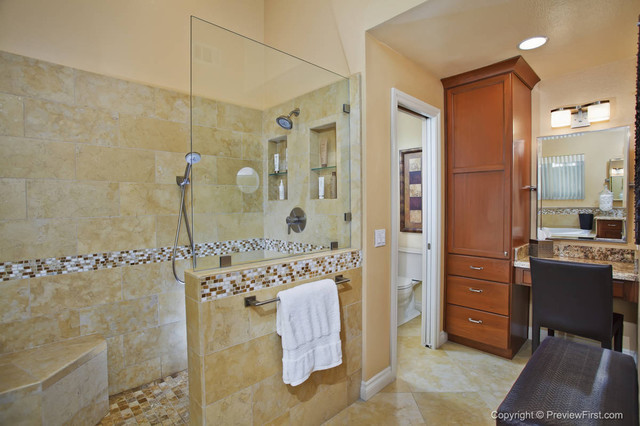 remodel works bath & kitchen shelf above sink dramatic master & fireplace university city ...