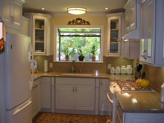 Very Small U Shaped Kitchen In West San Jose CA Traditional San