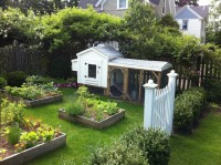 Backyard Garden - Farmhouse - Landscape - Boston - by ...