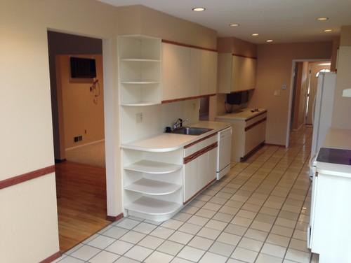 80s Laminate Cabinet Kitchen Update Advice