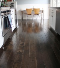 Brown Kitchen Floor