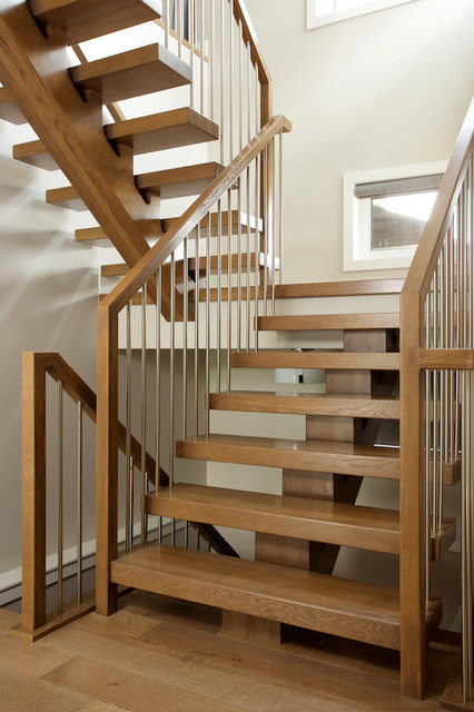 Stair Gorgeous Floating Staircase Kit For Your Inspiration