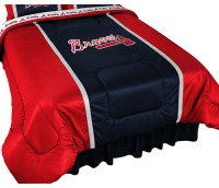 Sports Coverage - MLB Atlanta Braves Comforter Sidelines ...