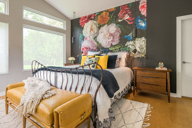 White Rock Modern eclectic-bedroom