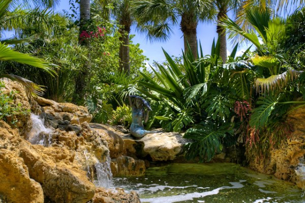 casey key estate landscape - tropical