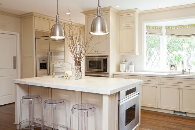 Off White Kitchen Transitional Kitchen San Francisco By