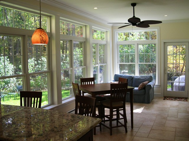 Kitchen Renovation and Sunroom Addition  Traditional