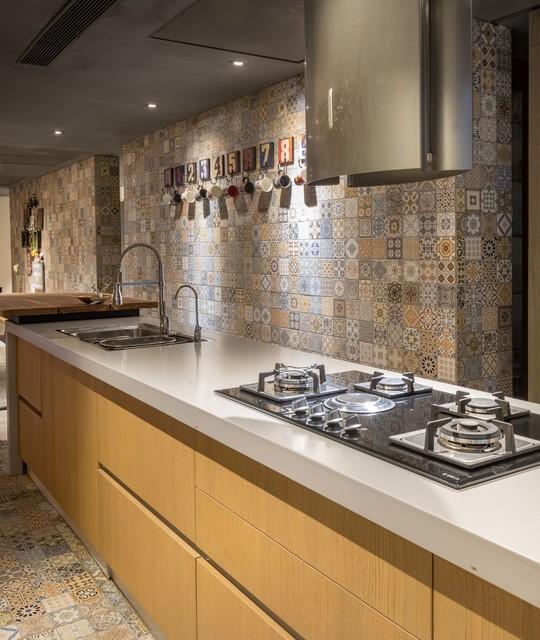 best backsplash tiles for indian homes