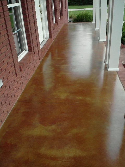 Acid Floors Washed Concrete