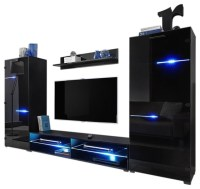 MEBLE FURNITURE & RUGS - Modern Entertainment Center Wall ...