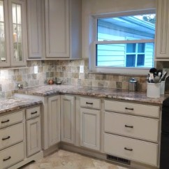Formica Kitchen Cabinets Restain Angela Raines Designs - Traditional Other By ...