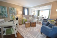 Home Office / Formal Living Room - Transitional - Home ...