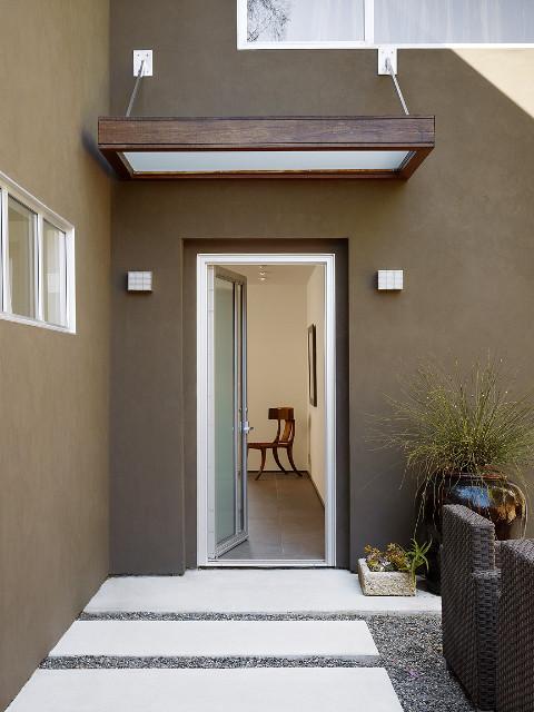 Modern Front Door Canopy