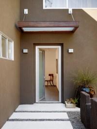 front entry canopy - Contemporary - Exterior - San ...