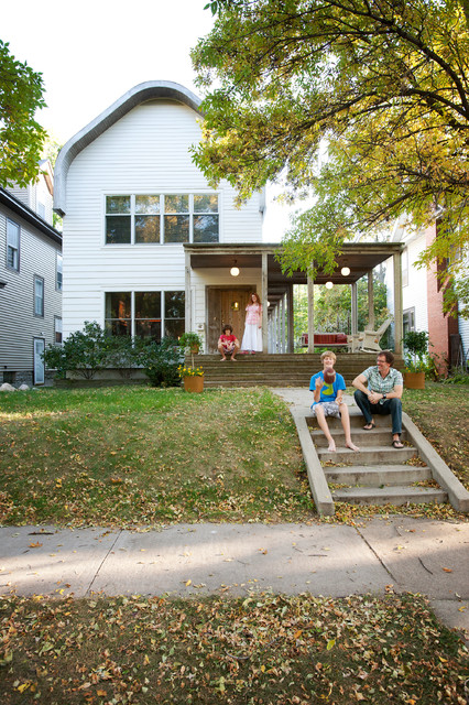 St. Paul Minnesota Home contemporary-exterior