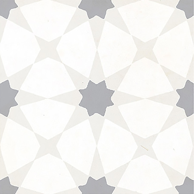 kanzzi zoudia 8x8 matte porcelain tile sample