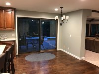 Transition between kitchen & living room