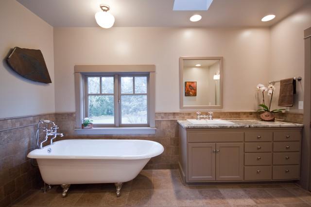 Modern Farmhouse Farmhouse Bathroom Portland By Kirk Design And Construction