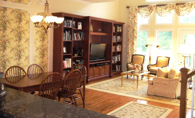 living room fireplace and tv interior design contemporary coffee tables for traditional townhome with custom wall cabinet ...