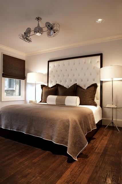 Modern Craftsman Guest Room contemporary-bedroom