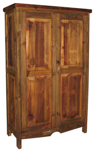 Farmhouse Pantry Cabinet  Rustic  Pantry Cabinets  by