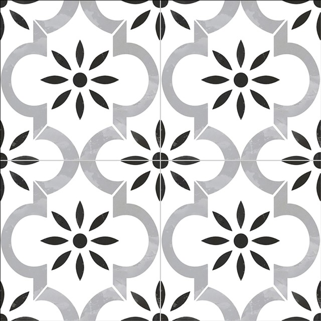 kenzzi azila 8x8 matte porcelain tile sample