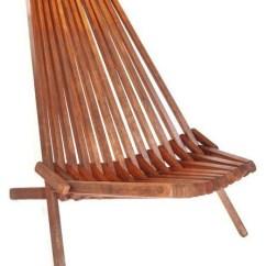Teak Folding Chair V Rocker Danish Slat Lounge Home Design Jpg