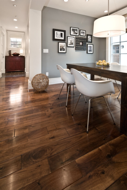 living room color schemes black leather couch with and four chairs breakfast nook - contemporary kitchen salt lake city ...