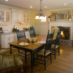 French Country Farm Table And Chairs Chair Gym Spares Kitchen With A Twist - Farmhouse Dining Room Philadelphia By Interiors ...