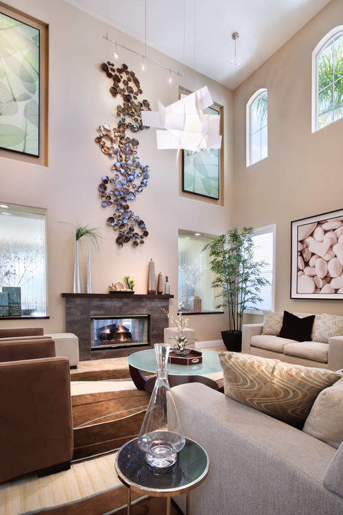 Wall Decorations For Living Room Ideas. Photo by International Custom Designs  More living room ideas 5 Stylish Ways To Improve Your Living Room Wall D cor TerminARTors