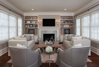 Elegant, Cozy Living Room - Traditional - Living Room ...