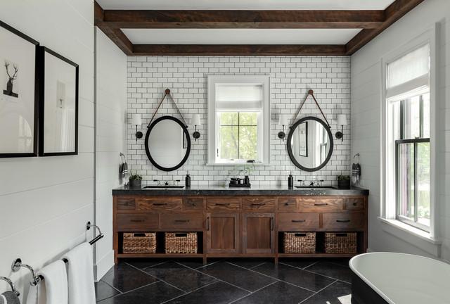 6 creative bathroom tile ideas