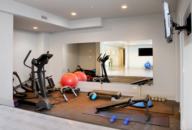 Kenwood 10 000 Square Foot Renovation Contemporary Home Gym