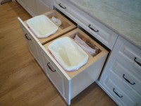 Garbage Drawers - Traditional - Kitchen - Chicago - by ...