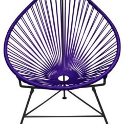 Indoor Outdoor Chairs Bertoia Style Chair White Acapulco In Purple Eclectic Armchairs And Accent Austin By The Khazana Home Furniture Store