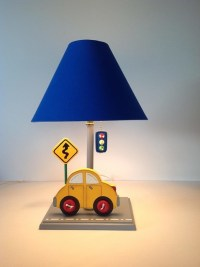 Cars Table Lamps for Kids Room - Kids Lamps - by Under Ten