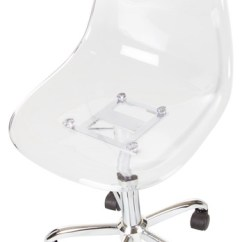Clear Desk Chairs Bloomingdales Dining South Shore Acrylic Office Chair With Wheels Contemporary