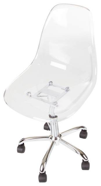 office chairs with wheels swivel chair nz south shore clear acrylic contemporary