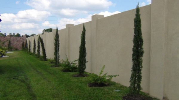 stucco walls - mediterranean