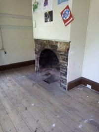 Old fireplace renovation