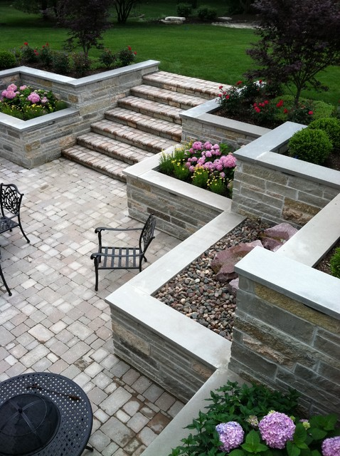 burr ridge sunken patio and balcony