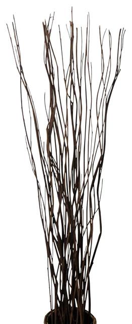 "Wavy Willow Stick Bundle 20pcs In A Bundle 40"" High Rustic"