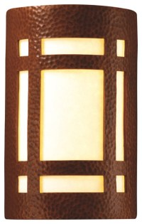Ambiance Small Craftsman Window Wall Sconce, Outdoor ...
